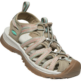 Keen Whisper Sandalen Dames, taupe/coral